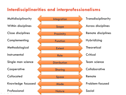 taxonomies of interdisciplinarity